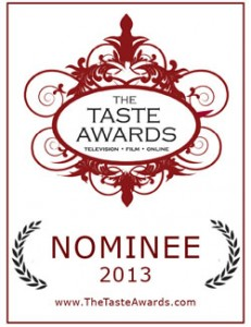 Taste Awards Nominee 2013