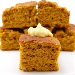 Perfect Pumpkin Cornbread with Cinnamon Butter