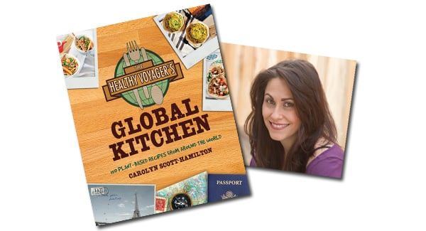 Purchase Signed Copies of The Healthy Voyager's Global Kitchen Cookbook