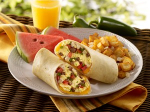Caribbean Breakfast Burrito Healthy, Vegan Recipe