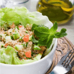 Vegetable and Herb Cauliflower Tabbouleh