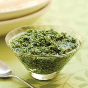 Latin Style Kale Pesto Raw Vegan Recipe