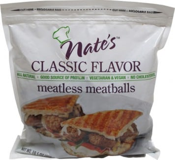 Nate's Meatless Meatballs Video Product Review