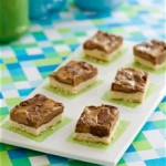 Easy Almond Butter and Chocolate Squares