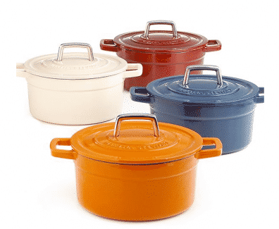 martha enameled cast iron 6 qt round casserole cookware review