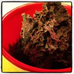 Chocolate Kale Chips