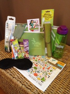 Healthy Voyager Healthy, Vegan and Eco-Friendly Travel Kits Deluxe Model