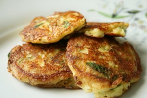 Garlic and Dill Mashed Potato Vegan Pancakes Recipe