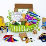 Green Kids Craft Monthly Box Subscription