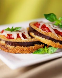 "Vegan and Gluten Free Quinoa Breaded Portobello ""Parmesan"" Recipe"