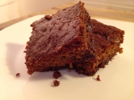 Vegan and Gluten Free Golden Summer Zucchini Espresso Flourless Brownies Recipe