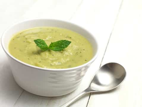 Healthy, Vegan and Gluten Free Tarragon Zucchini Soup Recipe