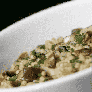 Vegan and Gluten Free Creamy Garlicky Quinoa Recipe