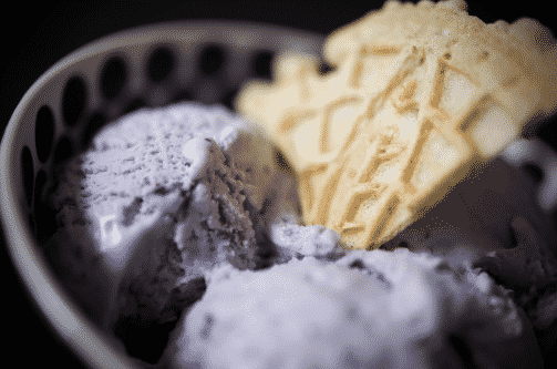 Raw Vegan Blueberry Banana Ice Cream Recipe