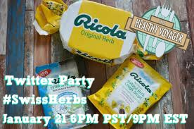 Join Me and Ricola for a #SwissHerbs Twitter Party and $500 Giveaway!