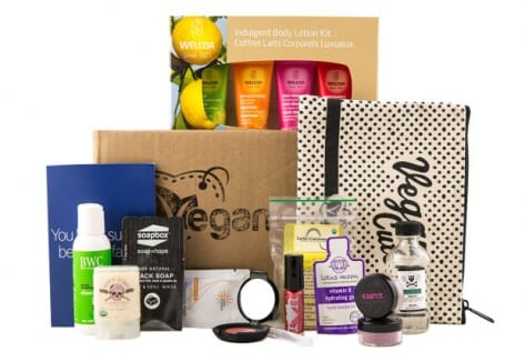 VeganCuts Vegan Beauty Kit Giveaway