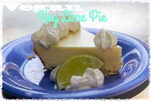 Vegan Key Lime Pie Recipe by Carolyn Scott Hamitlon