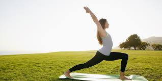 What is the value for yoga clothes while exercising?