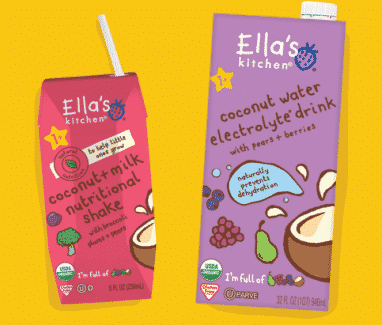 Ella's Organics New Drinks Ella's Kitchen