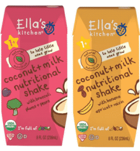 Ella's Kitchen Protein Drinks
