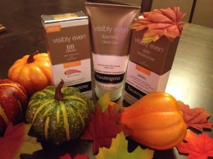 Neutrogena Visibly Even for Fall
