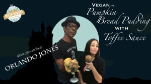 Orlando Jones Guest Stars on the Halloween Episode of The Healthy Voyager's Global Kitchen