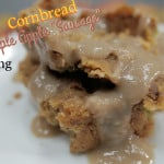 "Cornbread Maple Apple ""Sausage"" Thanksgiving Stuffing on The Healthy Voyager's Global Kitchen"