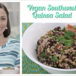 Southwest Quinoa Salad on The Healthy Voyager's Global Kitchen
