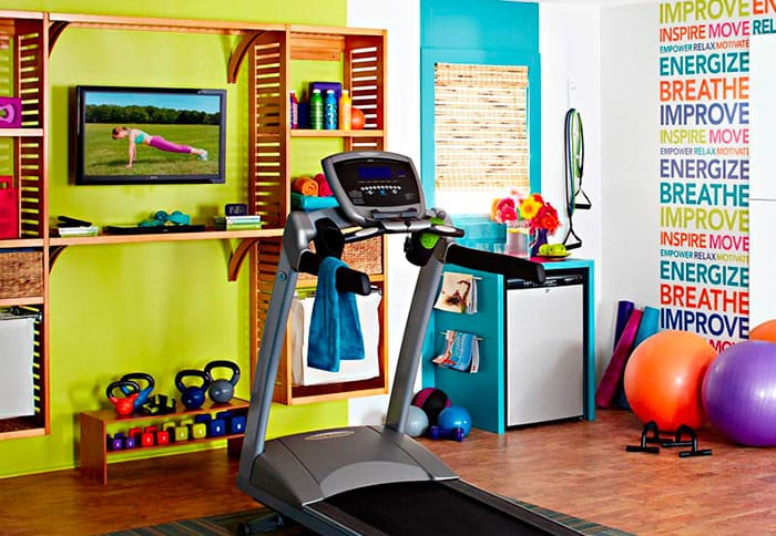 Turning a room into a gym? You have more options than you think