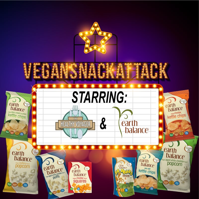 vegan snack attack contest healhy voyager