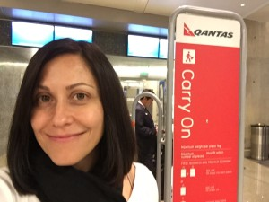healthy voyager qantas airlines