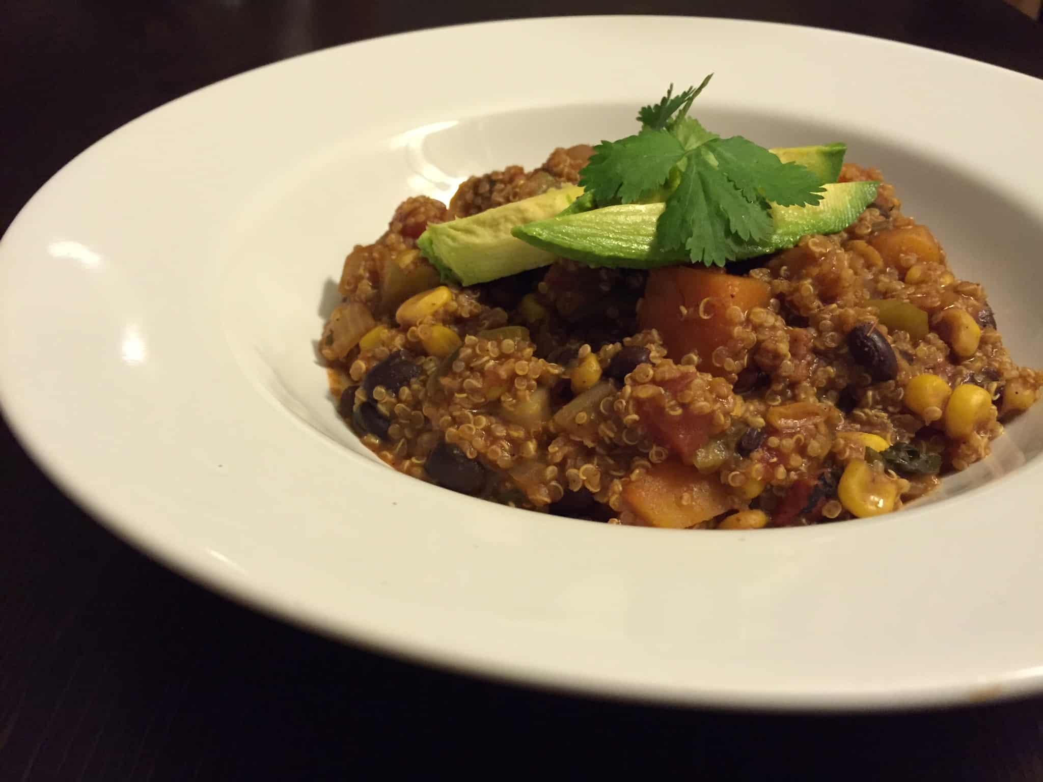healthy voyager vegan crock pot mexican quinoa recipe