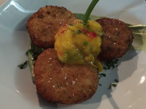 healthy voyager vegan paella fritters