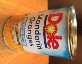 dole canned mandarin slices