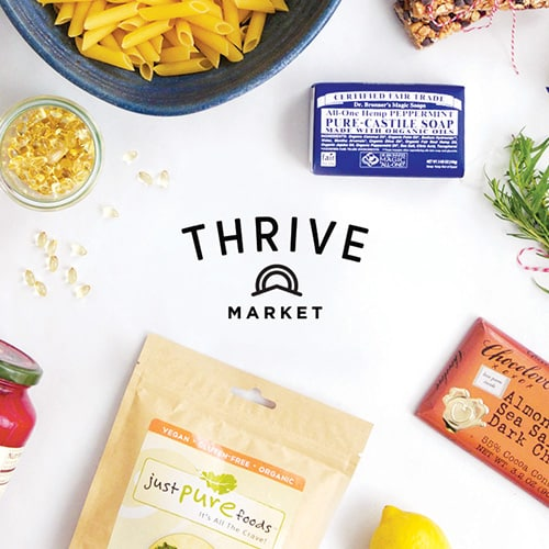 thrive market giveaway and shopping spree