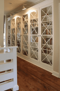 Baby-proofing bookcases