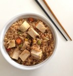 Quick Tofu Teriyaki Vegetable Fried Rice