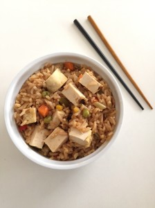 vegan teriyaki fried rice recipe