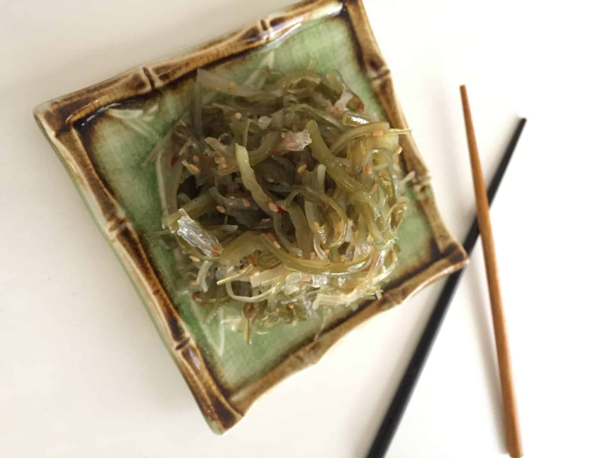 vegan seaweed salad recipe