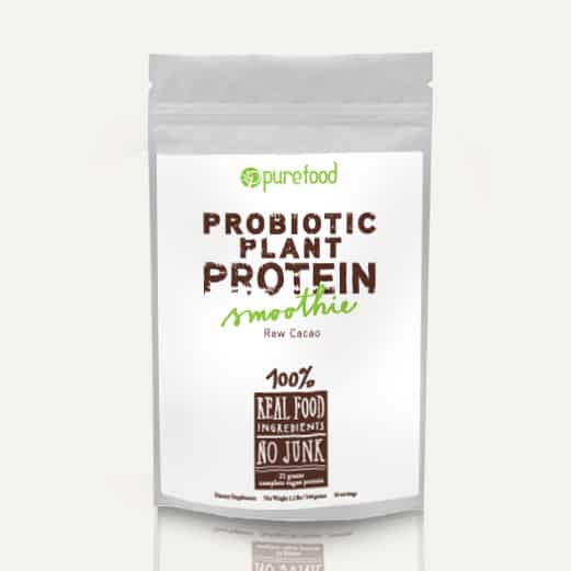 purefood vegan probiotic powder review