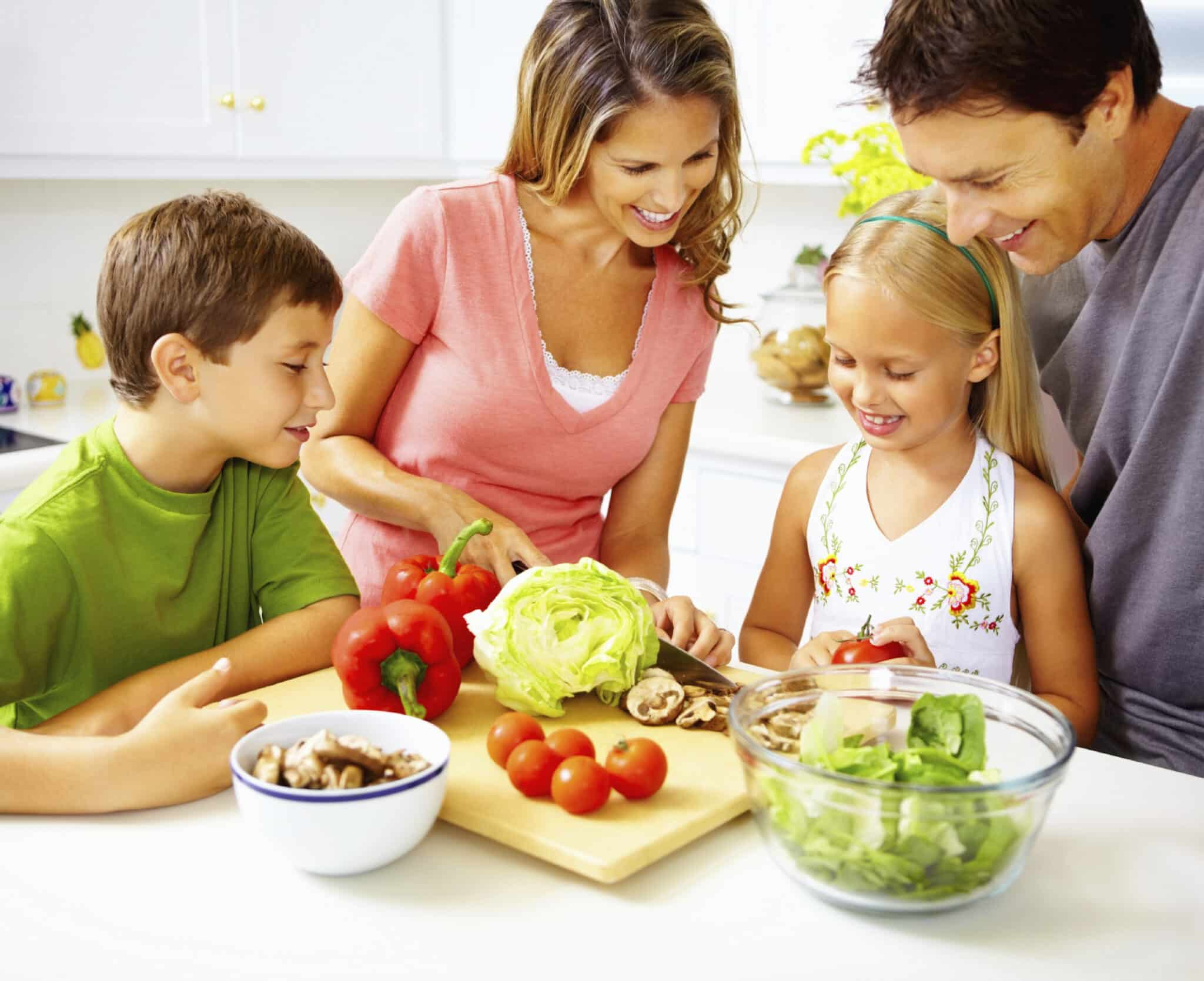 healthy living family tips
