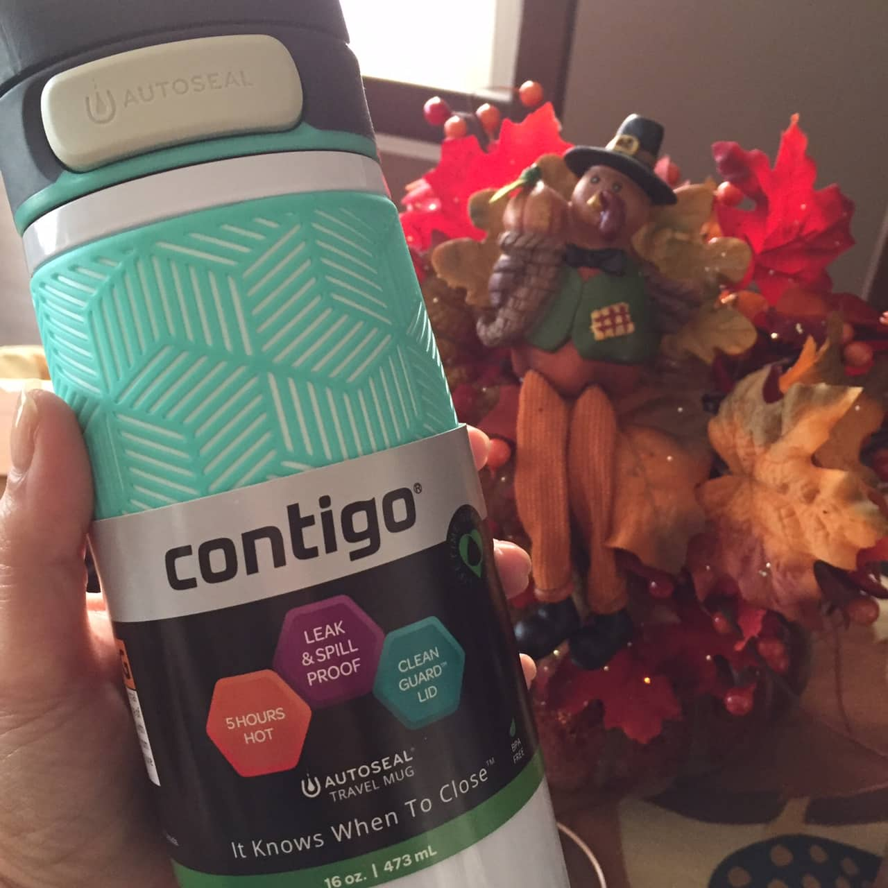 contigo travel mug for the holidays