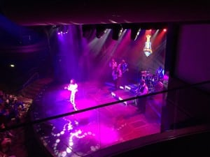 entertainment on cruise healthy voyager