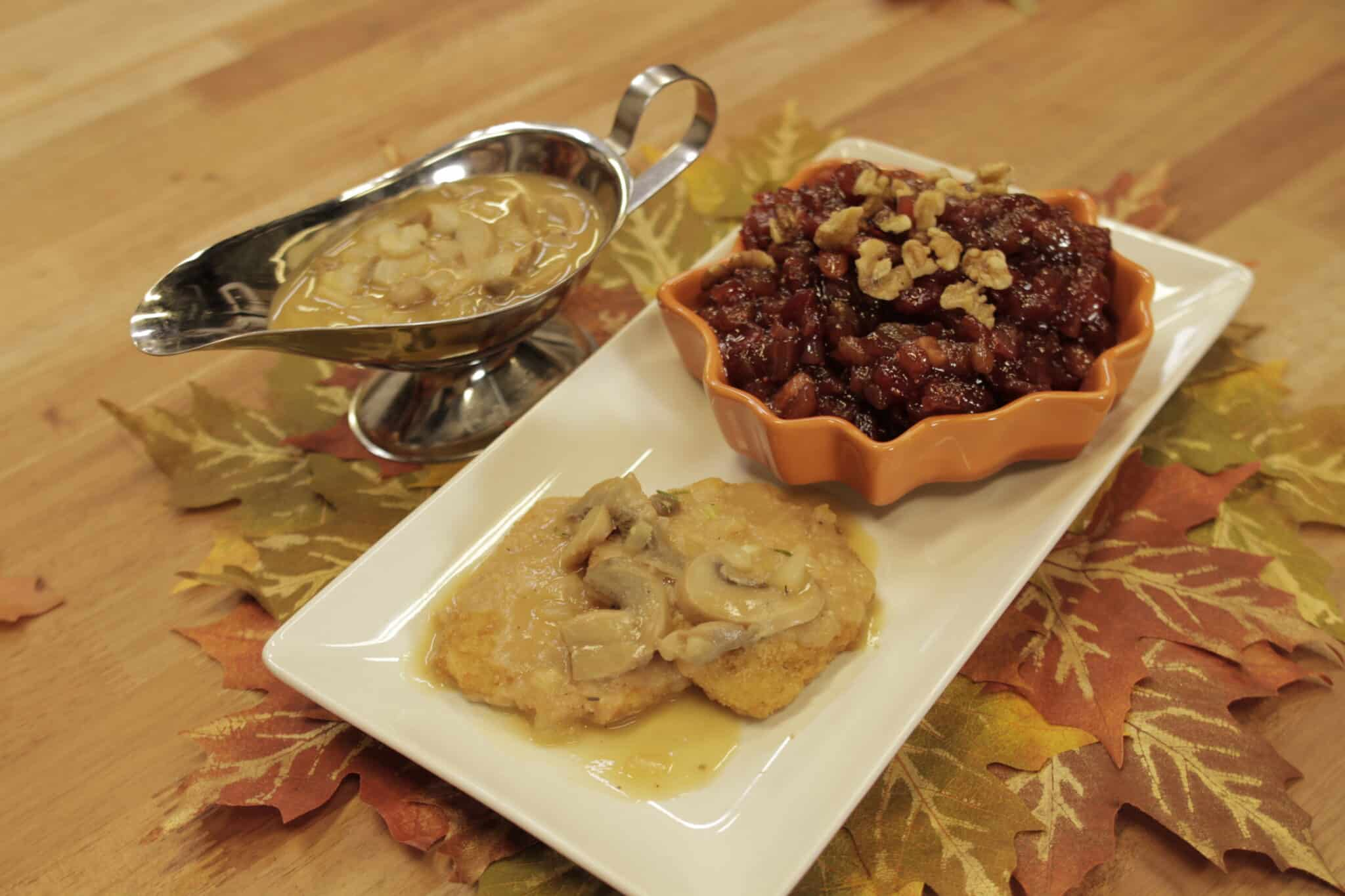 vegan mushroom gravy thanksgiving recipe