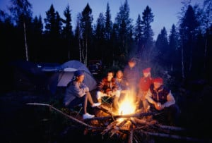 healthy camping tips