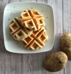 Savory Mashed Potato Waffles