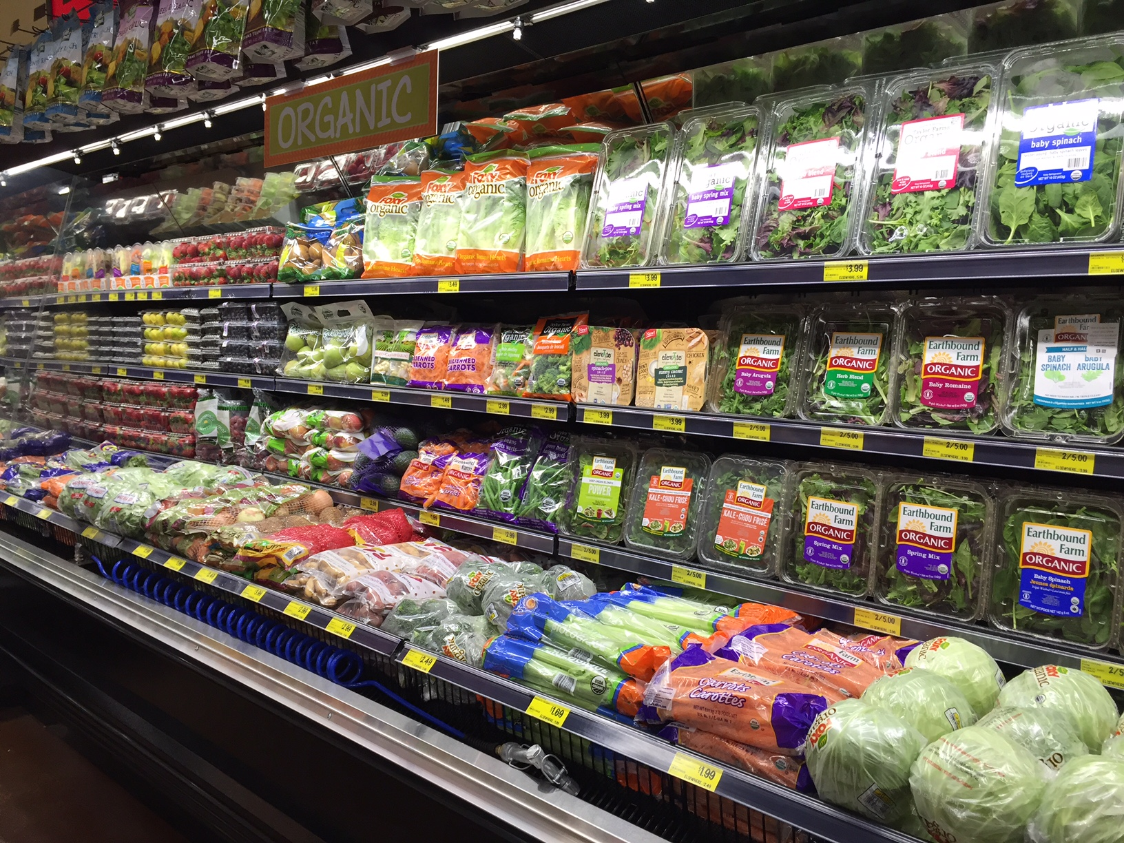 grocery outlet organic produce