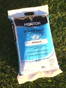 mortons salt water softener