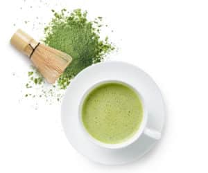 cooking with matcha