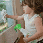 Eco Cleaning with Kids – earth and health friendly